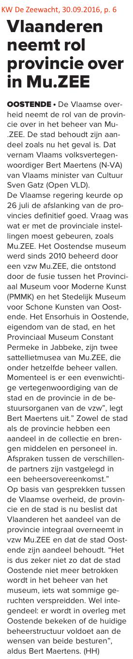 KW De Zeewacht, 30.09.2016, p. 6