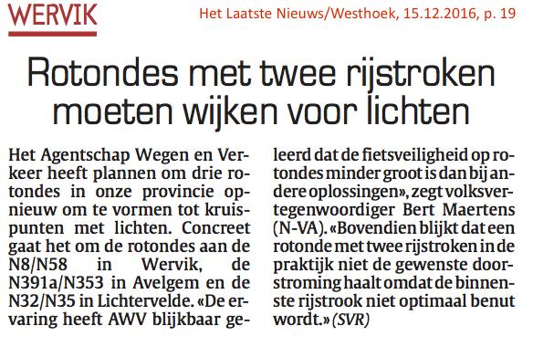 Het Laatste Nieuws/Westhoek, 15.12.2016, p. 19