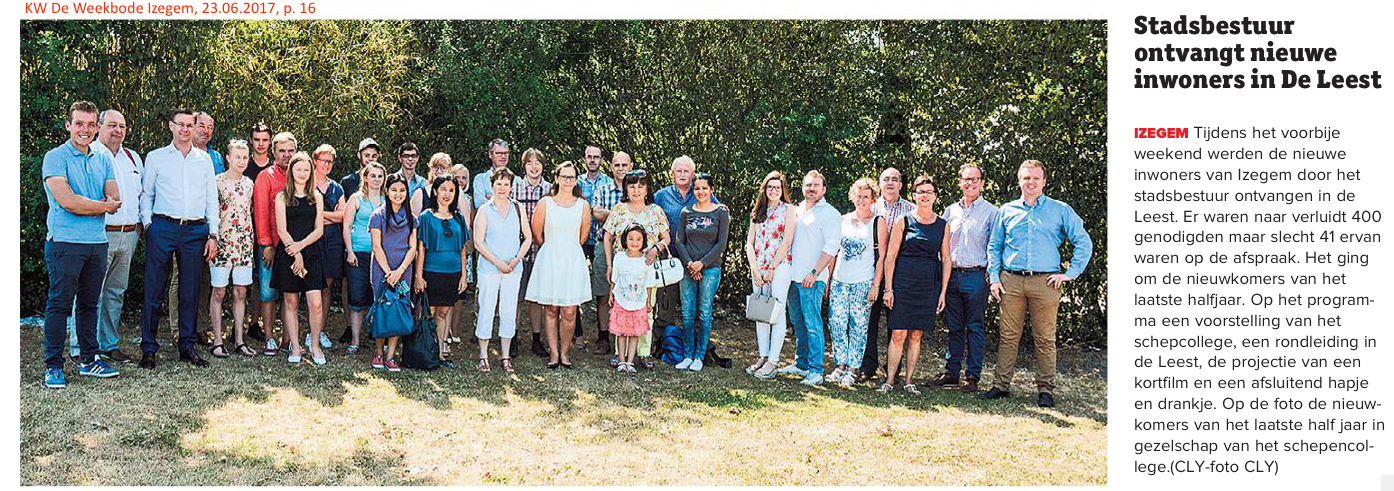 KW De Weekbode Izegem, 23.06.2017, p. 16