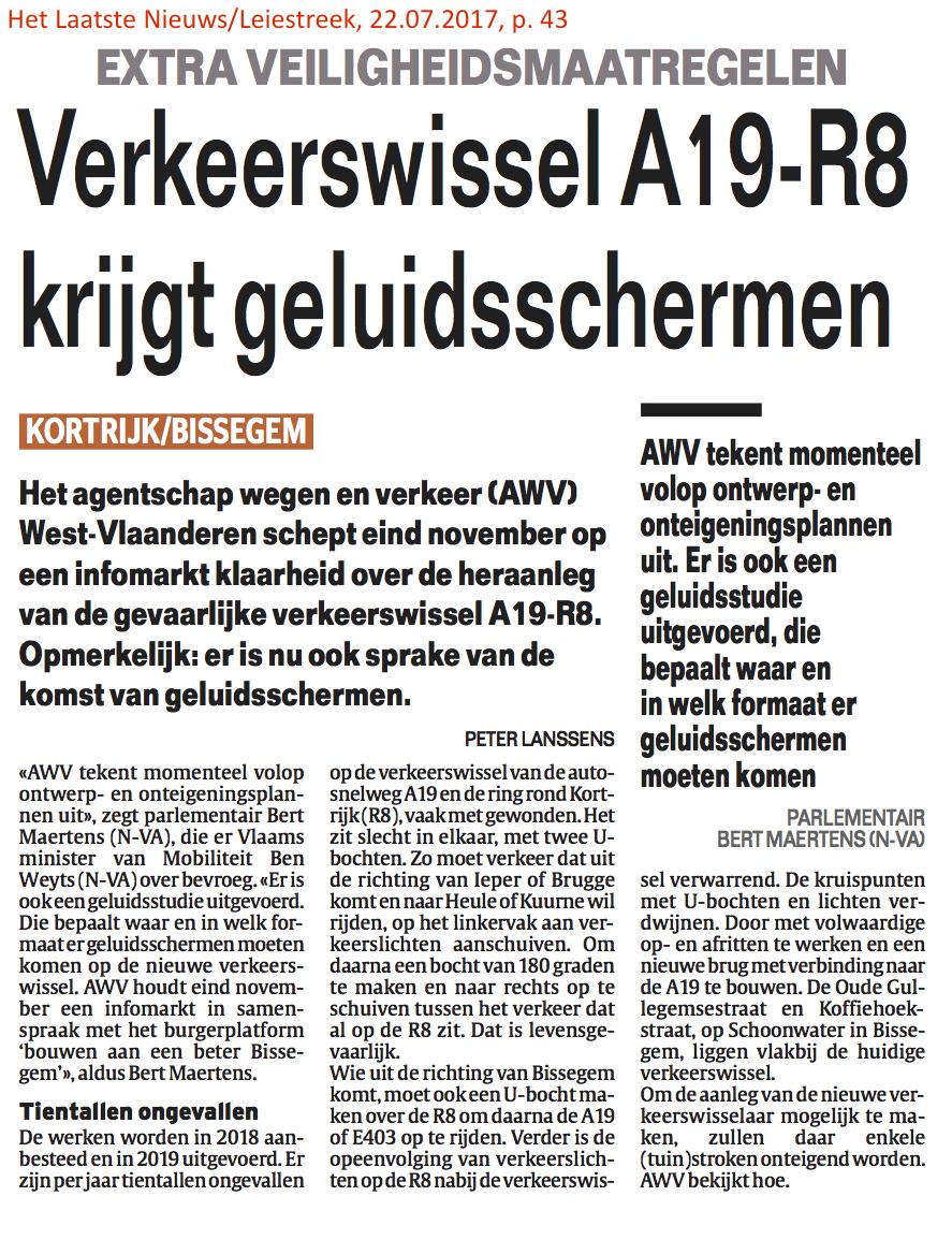 Het Laatste Nieuws/Leiestreek, 22.07.2017, p. 43
