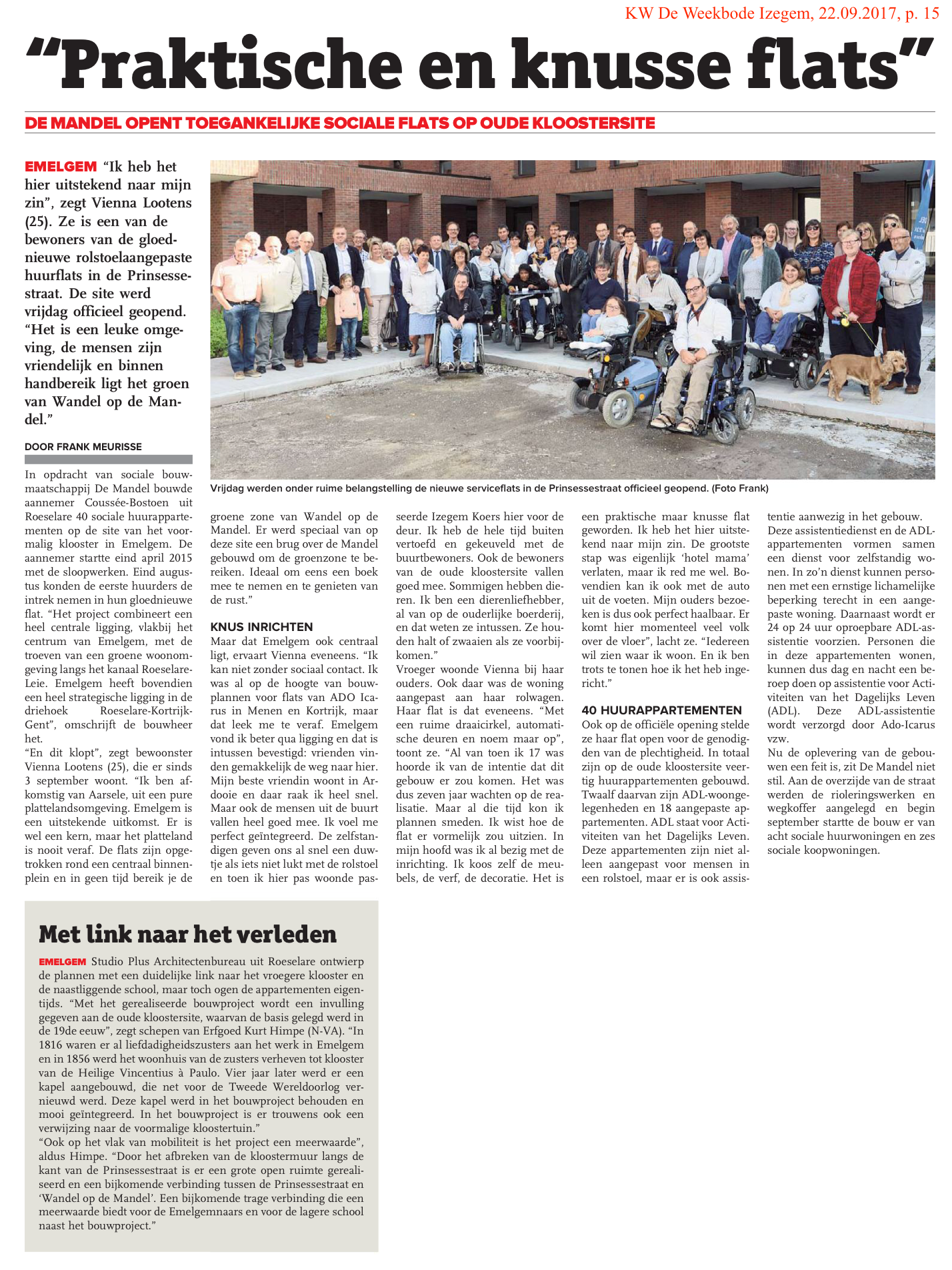 KW De Weekbode Izegem, 22.09.2017, p. 15