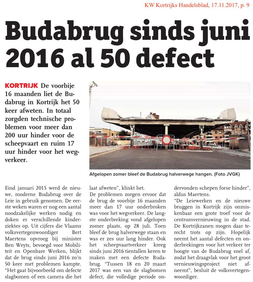KW Kortrijks Handelsblad, 17.11.2017, p. 9