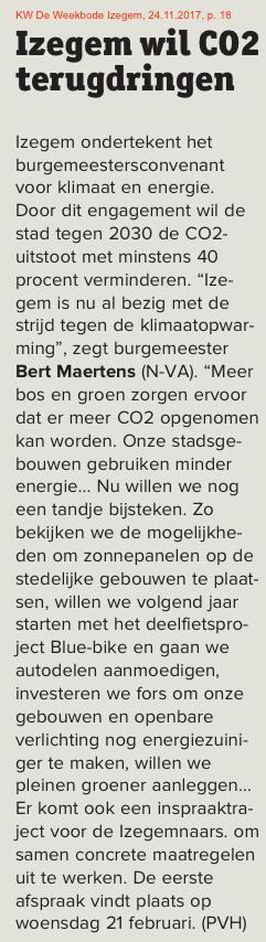 KW De Weekbode Izegem, 24.11.2017, p. 18