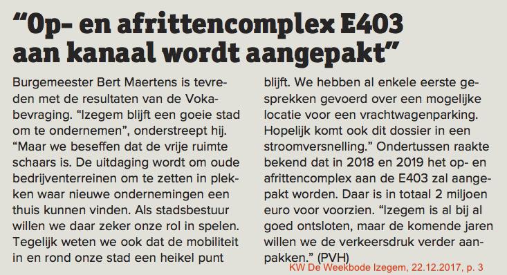 KW De Weekbode Izegem, 22.12.2017, p. 3