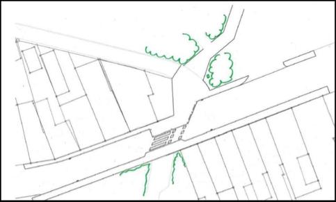 Naar een meer veilige oversteek voor fietsers en voetgangers in de Krekelstraat