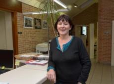 Maureen Raedt van de Izegemse Bouwmaatschappij ziet een fusie met De Mandelbeek in Ingelmunster wel zitten. FOTO: FMR