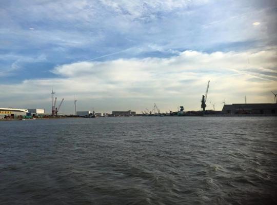 Werkbezoek Haven Gent