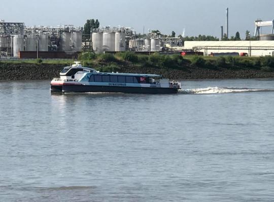 Waterbus op kanaal Roeselare-Leie?