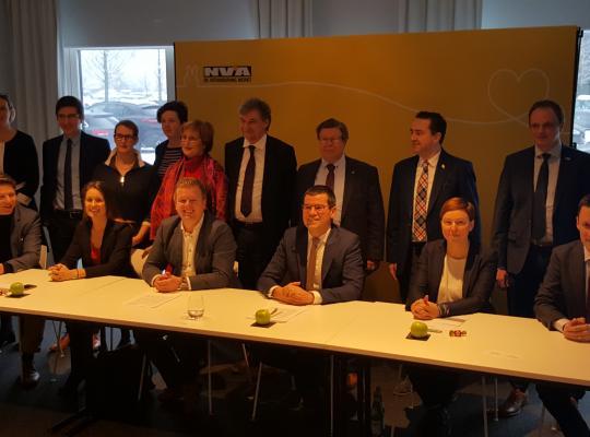 N-VA stelt West-Vlaamse topkandidaten voor