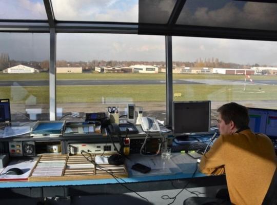 Bert Maertens ziet in de komst van Belgocontrol naar Kortrijk-Wevelgem een verdere professionalisering. © MPM