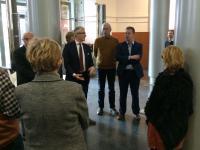 Met Bert naar het Vlaams Parlement