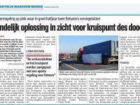 Artikel Het Nieuwsblad 26 mei 2020